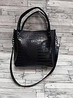 Стильная женская сумочка рептилия