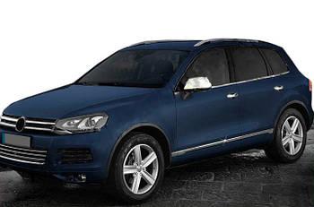 Volkswagen Touareg 2010-2018 гг. Нижний молдинг стекла (6 шт, нерж) OmsaLine - Итальянская нержавейка
