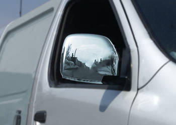 Toyota HiAce Накладки на зеркала (2 шт, нерж)
