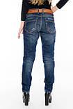 Женские джинсы бойфренды J 294 синие, фото 7