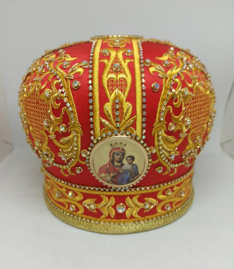 Митра для православного священника + футляр для хранения