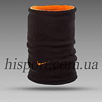 Бафф (горловик) Найк (Nike) черно-оранжевый