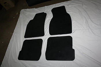 Audi A6 C5 2001-2004 гг. Резиновые коврики (4 шт, Stingray Premium)