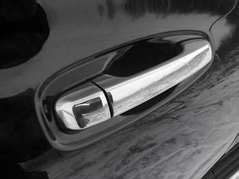 Toyota LC 150 Prado Накладки на ручки (4 шт, нерж.)