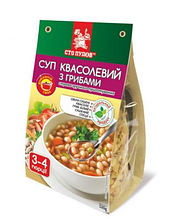 Суп квасолевий з грибами, Сто Пудів, 120г