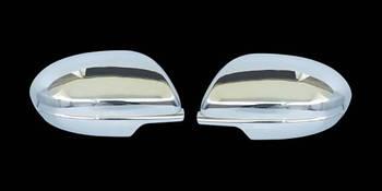 Mazda 6 2008-2012 гг. Накладки на зеркала (2 шт) Полированная нержавейка