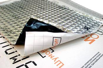 Виброизоляция Шумофф М-серия (27х37см) Шумофф М2 - 2.3мм