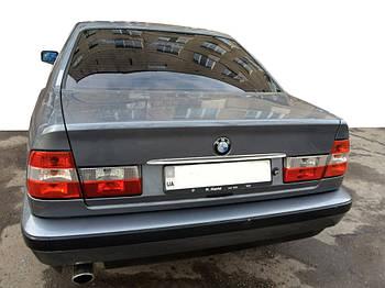BMW 5 серия E-34 1988-1995 гг. Хром планка над номером (нерж.)