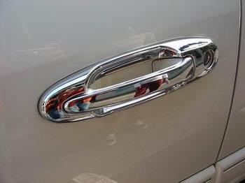 Lexus LX470 Накладки на ручки -2020 вокруг (8 шт, пласт.)
