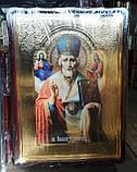 Большая православная икона Серафима Саровского для храма 110х80см, фото 3