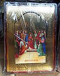 Большая православная икона Серафима Саровского для храма 110х80см, фото 4