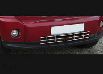 Dodge Nitro 2007↗ гг. Хром решетка в бампер (нерж)