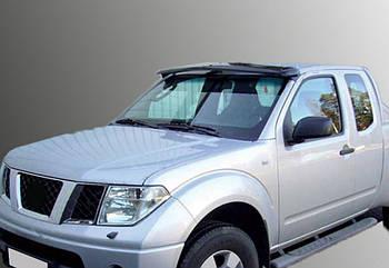 Nissan Pathfinder R51 2005-2014 гг. Козырек на лобовое стекло (на раме)