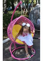 Подвесное кресло детское Гарди Кидс из ротанга мебель для сада