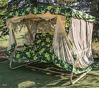 Садовые качели Патио с подголовником магазин мебели для сада
