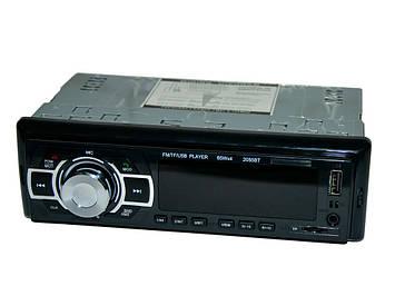 🔥✅  Автомагнитола 1 din с USB 2058BT (6998) черная, автомобильный магнитофон с пультом | автомагнітола