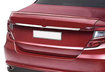 Fiat Tipo 2016↗ гг. Хром планка над номером (нерж) Sedan (хром)