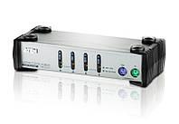 KVM коммутатор CS-84AC 4-портовый   PS/2