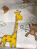 Дитяче полуторна постільна білизна Жираф, фото 2