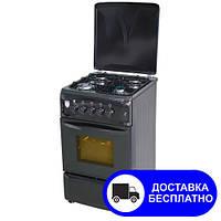 Плита газовая VITATERMO G 564 чёрная