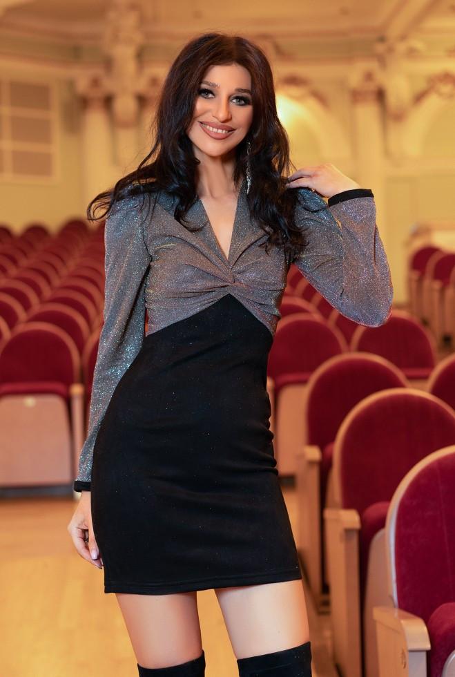 Платье Мелинда кирпичный s