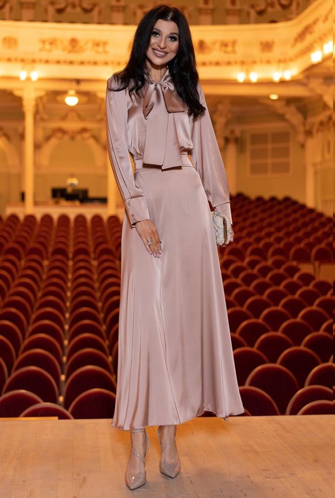 Платье Катриона темно-бежевый xl