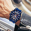 Молодіжний синій годинник Mini Focus MF0268G, фото 4