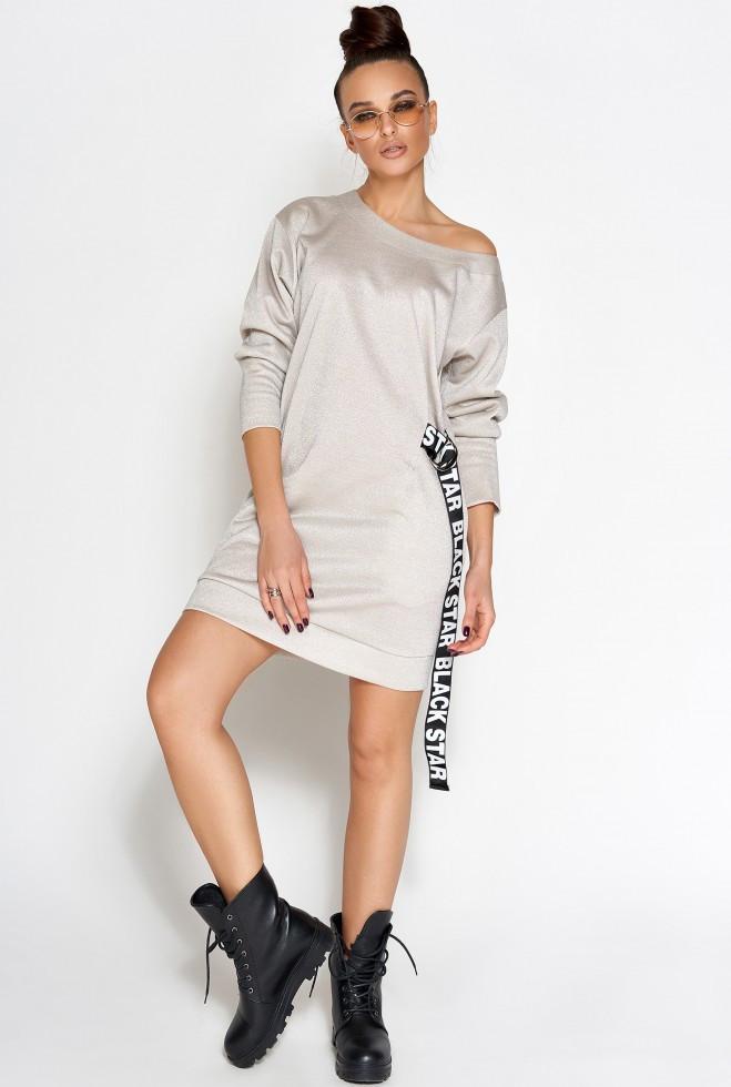 Платье-туника Эстер розовый xl