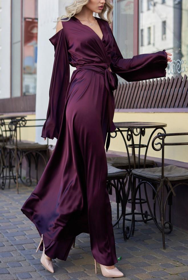 Платье Виктория марсала s