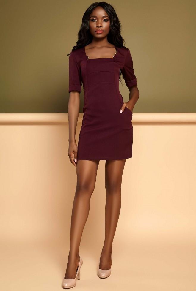 Платье Мия марсала xl