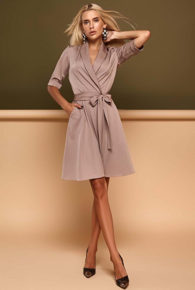 Платье Джоанна бежевый xl