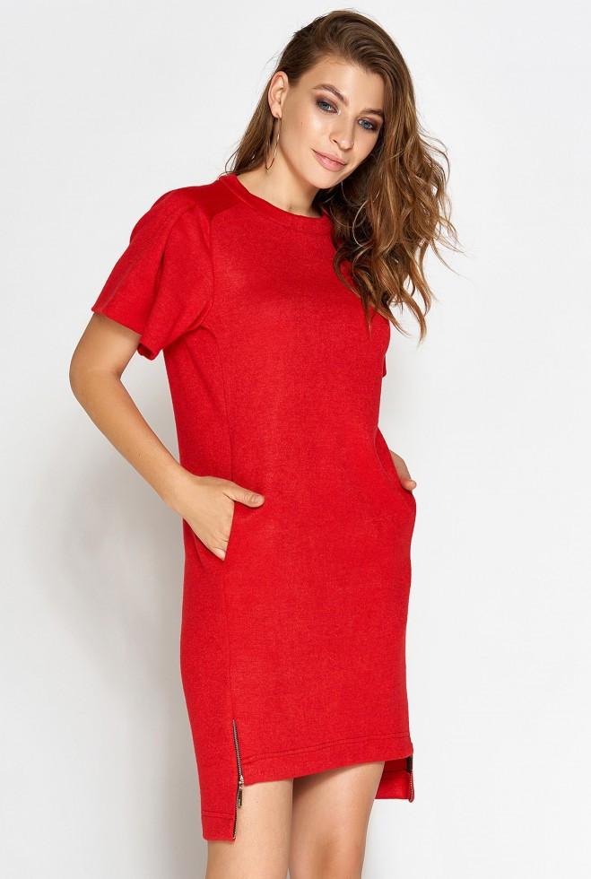 Платье Темми красный xl