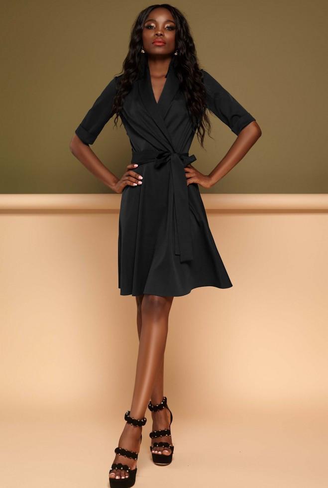 Платье Джоанна черный xl