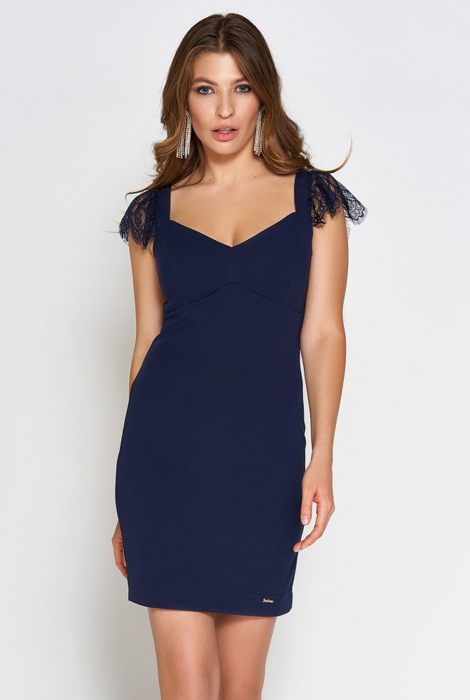 Платье Алиса тёмно-синий m
