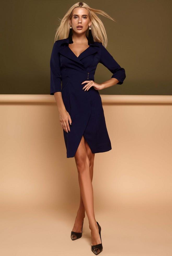 Платье Эсми тёмно-синий s