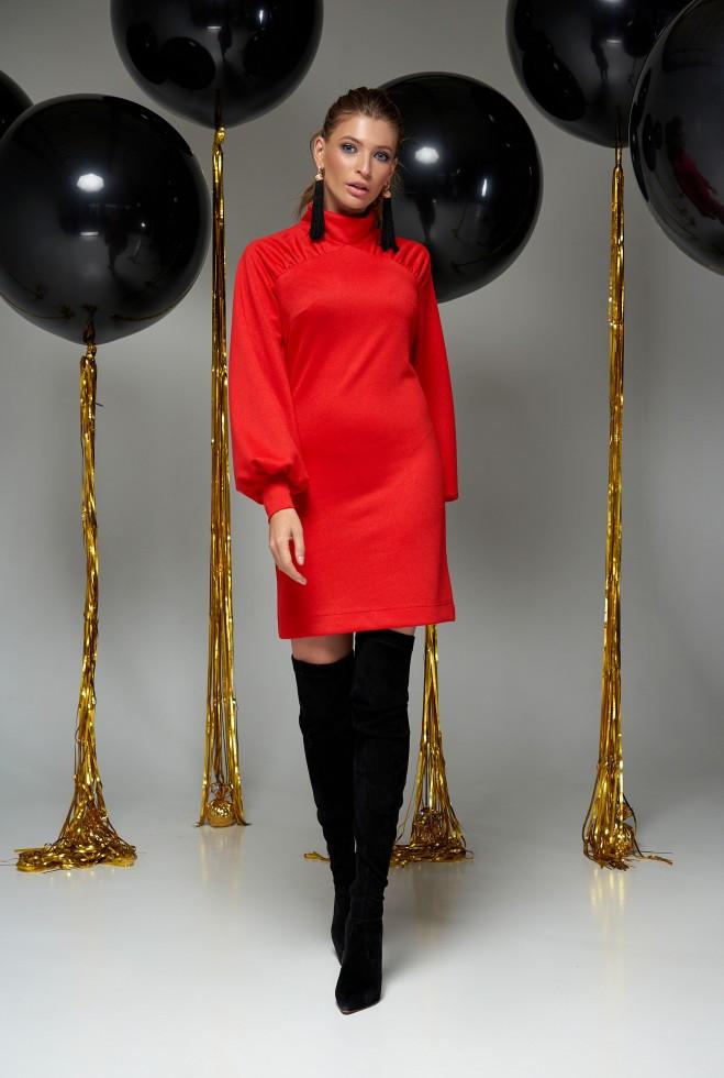 Платье Холли красный l