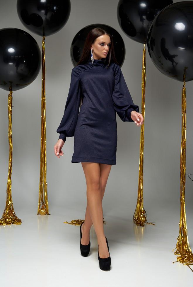 Платье Холли тёмно-синий l