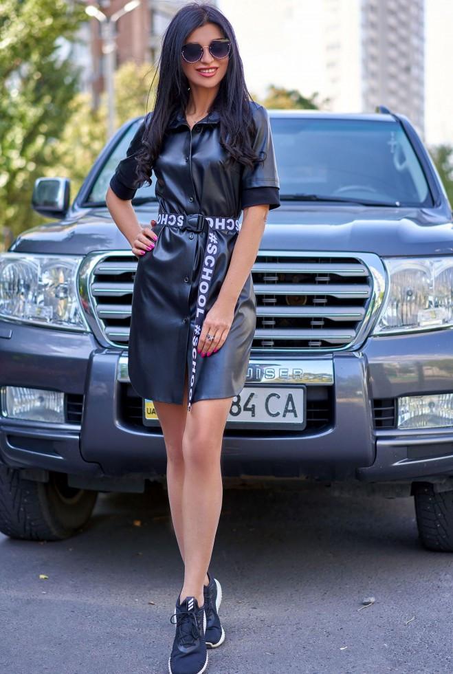 Платье Хизер черный xl