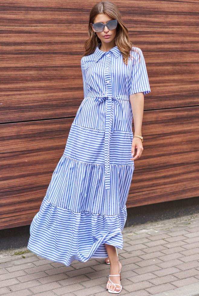 Платье Нея синий m