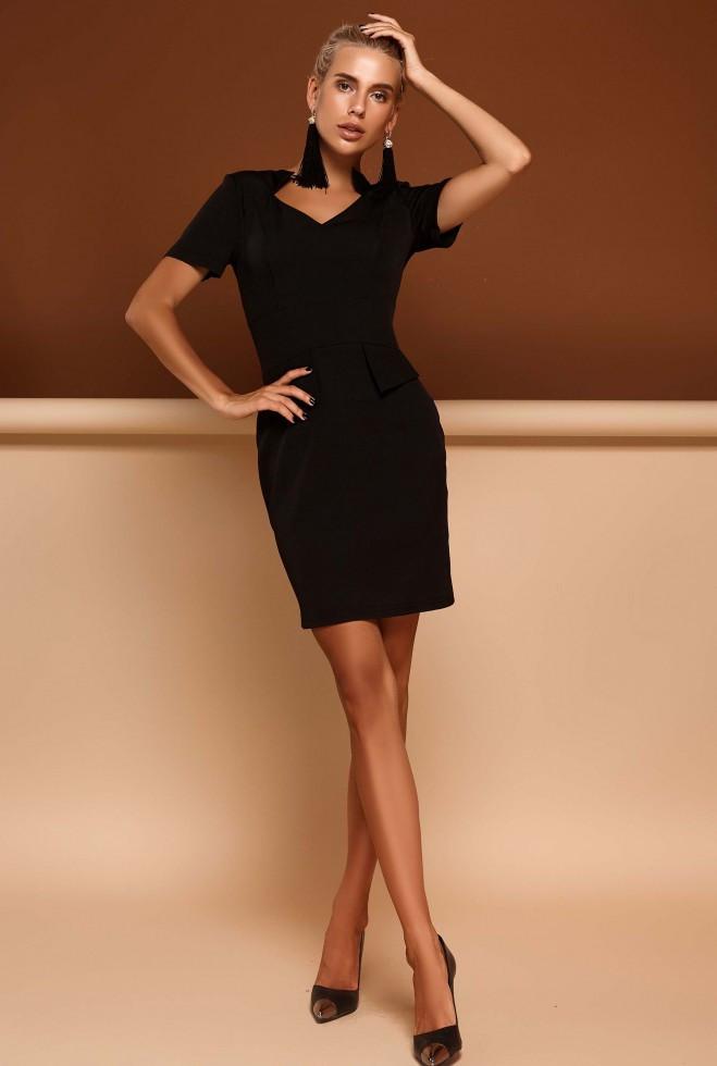 Платье Кендал черный xl