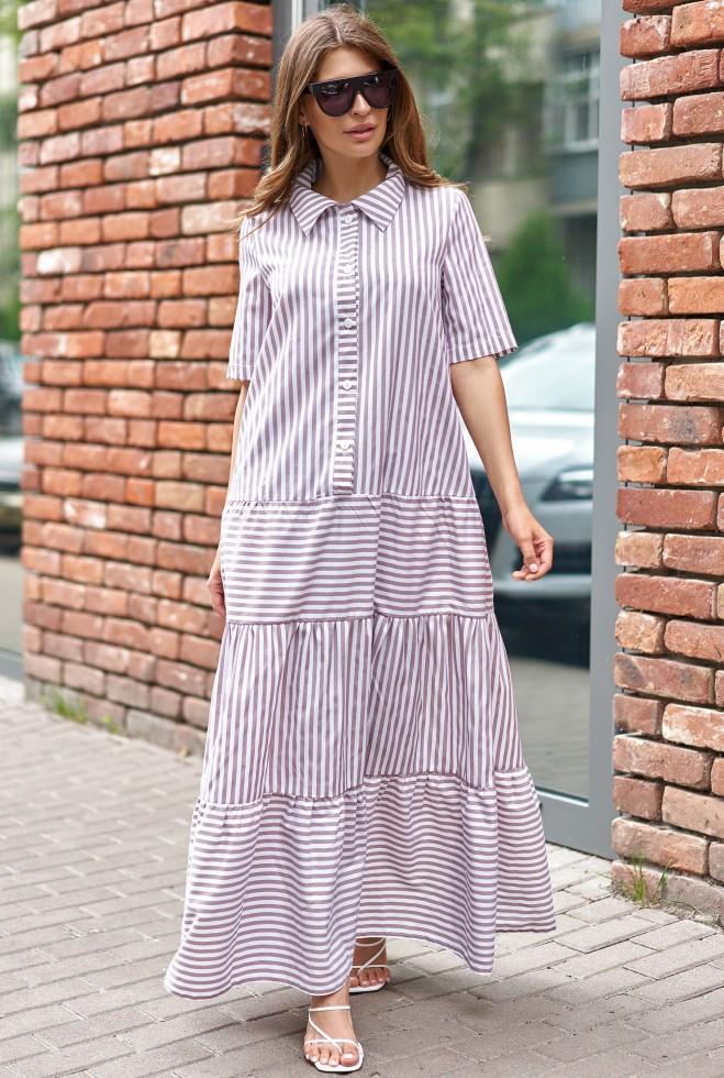 Платье Нея бежевый m