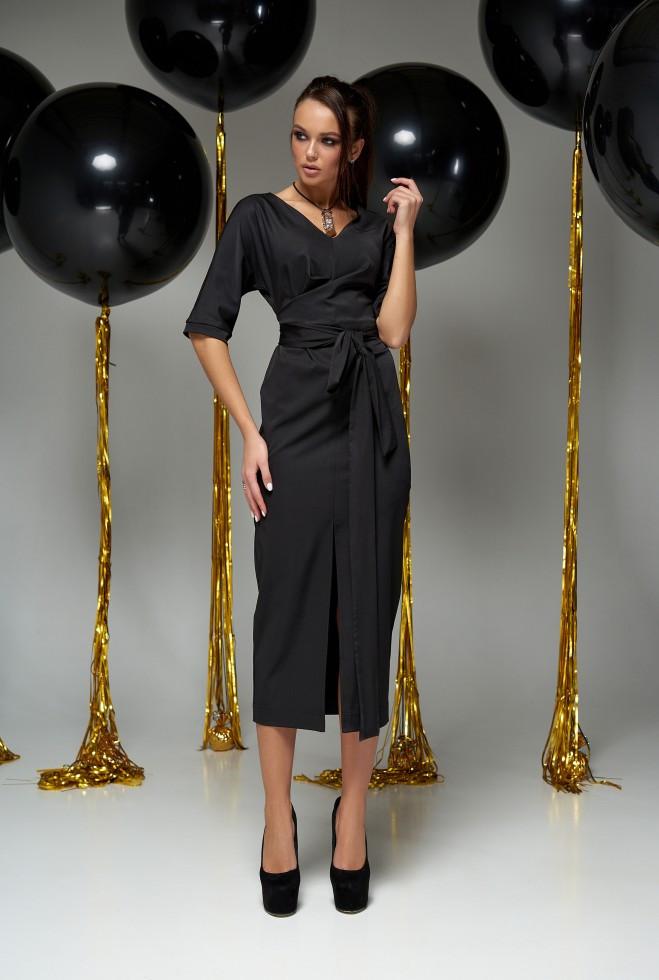 Платье Селеста черный s