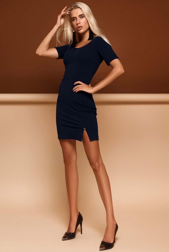 Платье Лорна тёмно-синий s