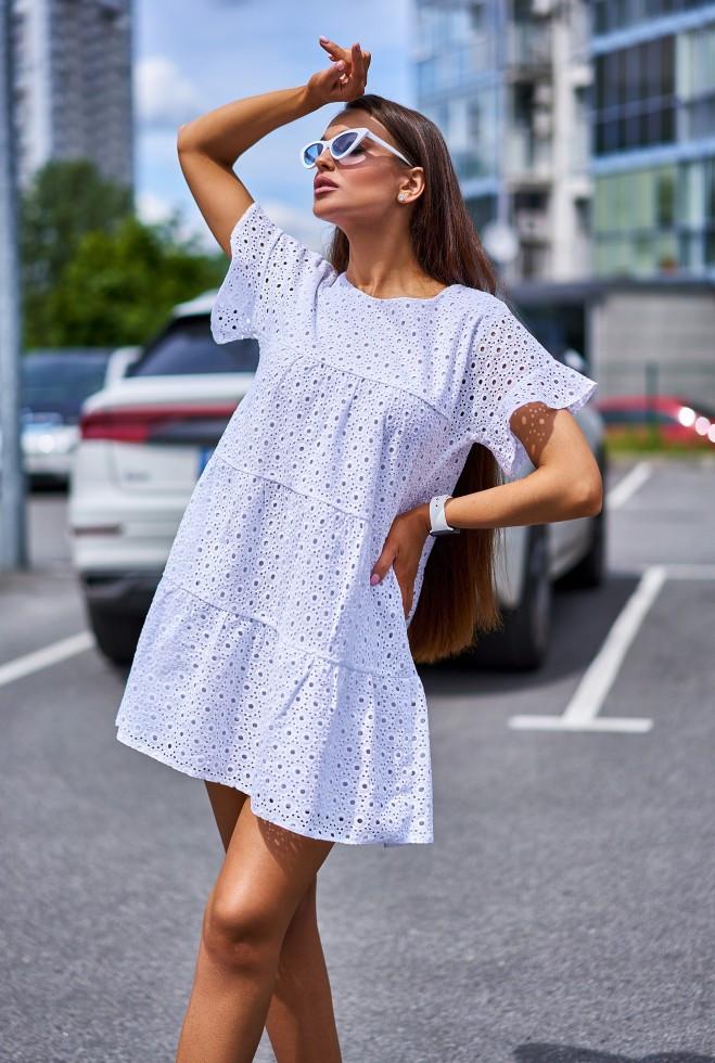 Платье Рида белый s