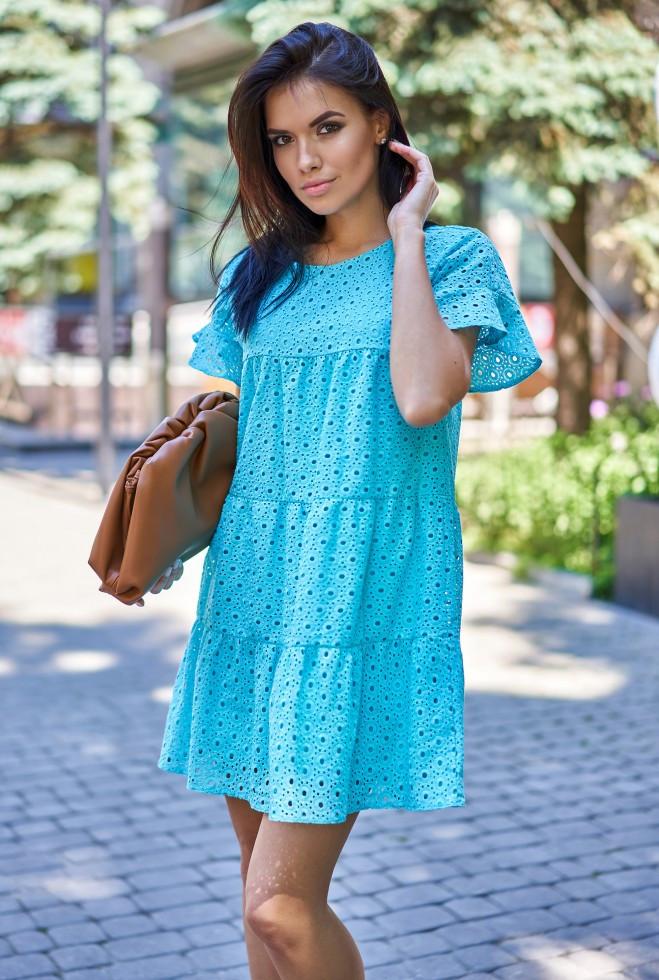 Платье Рида бирюзовый s