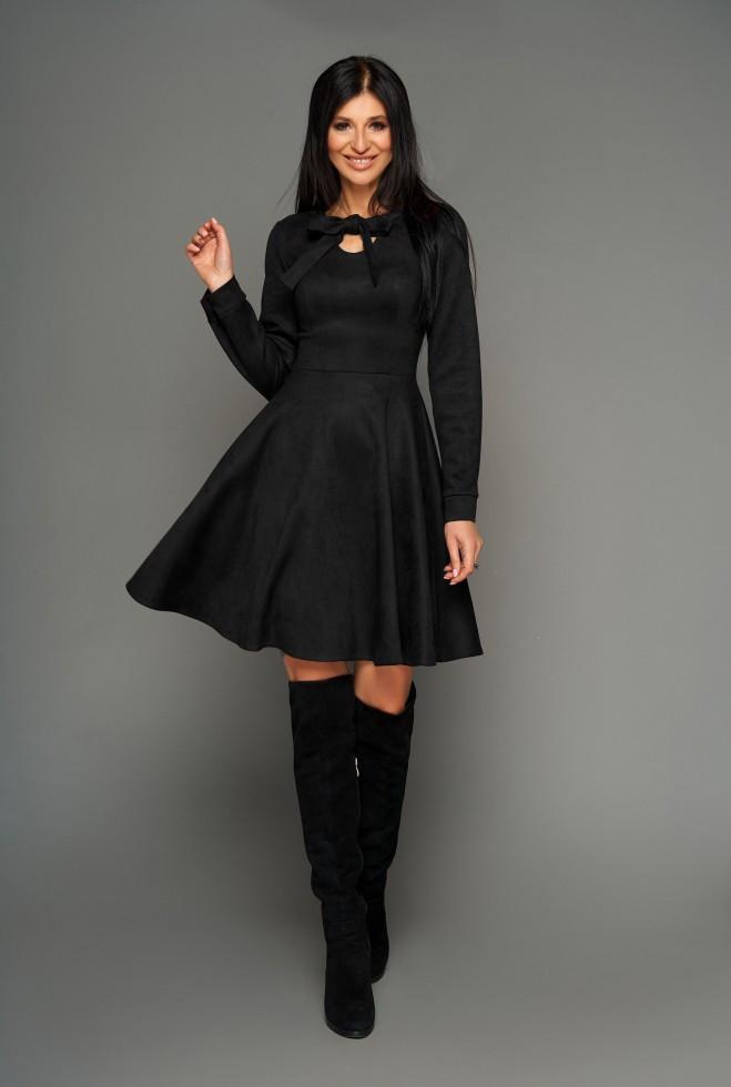 Платье Хайди черный xl