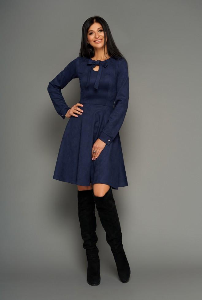 Платье Хайди тёмно-синий xl