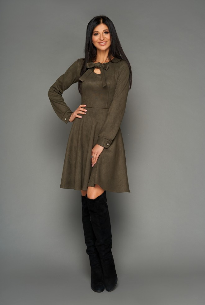Платье Хайди хаки xl
