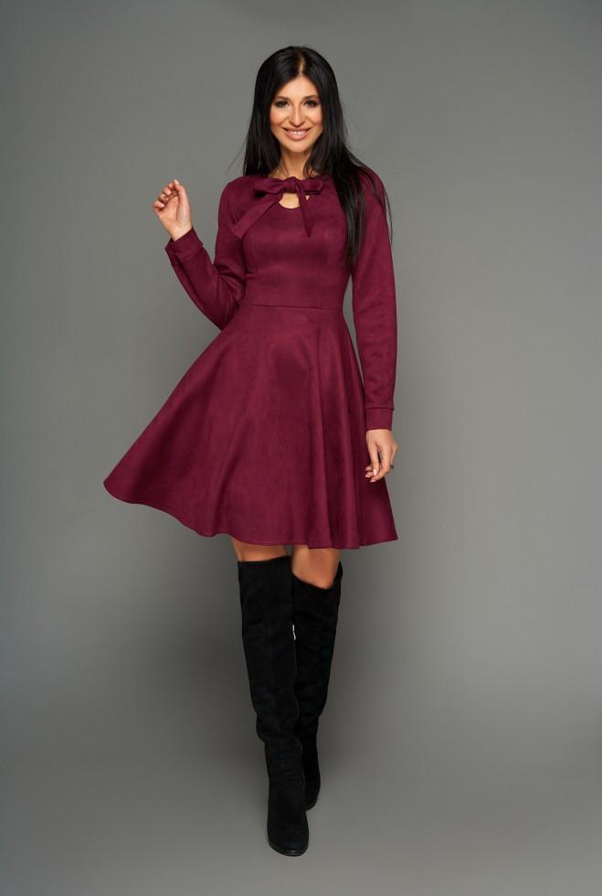 Платье Хайди слива xl