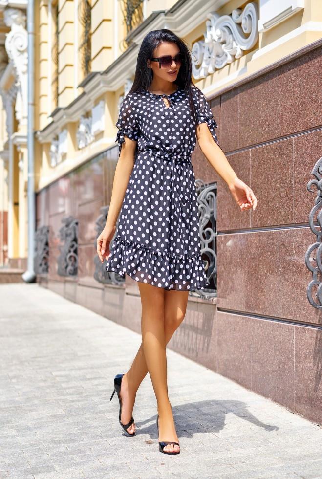 Платье Мила черный m